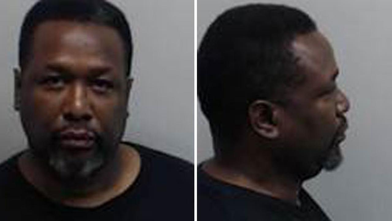 The Wire actor Wendell Pierce is shown in mugshots taken at the Fulton County Jail on Saturday, May 14, 2016.
