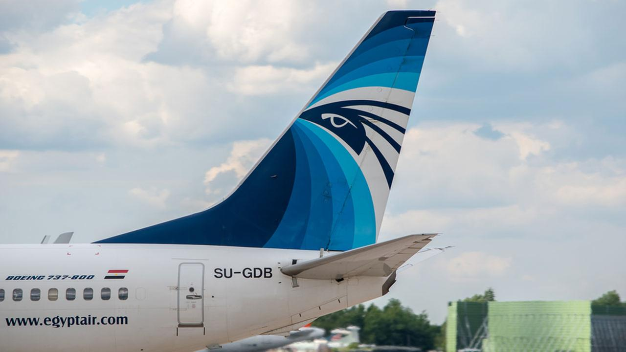 An EgyptAir plane is shown in this undated file photo.