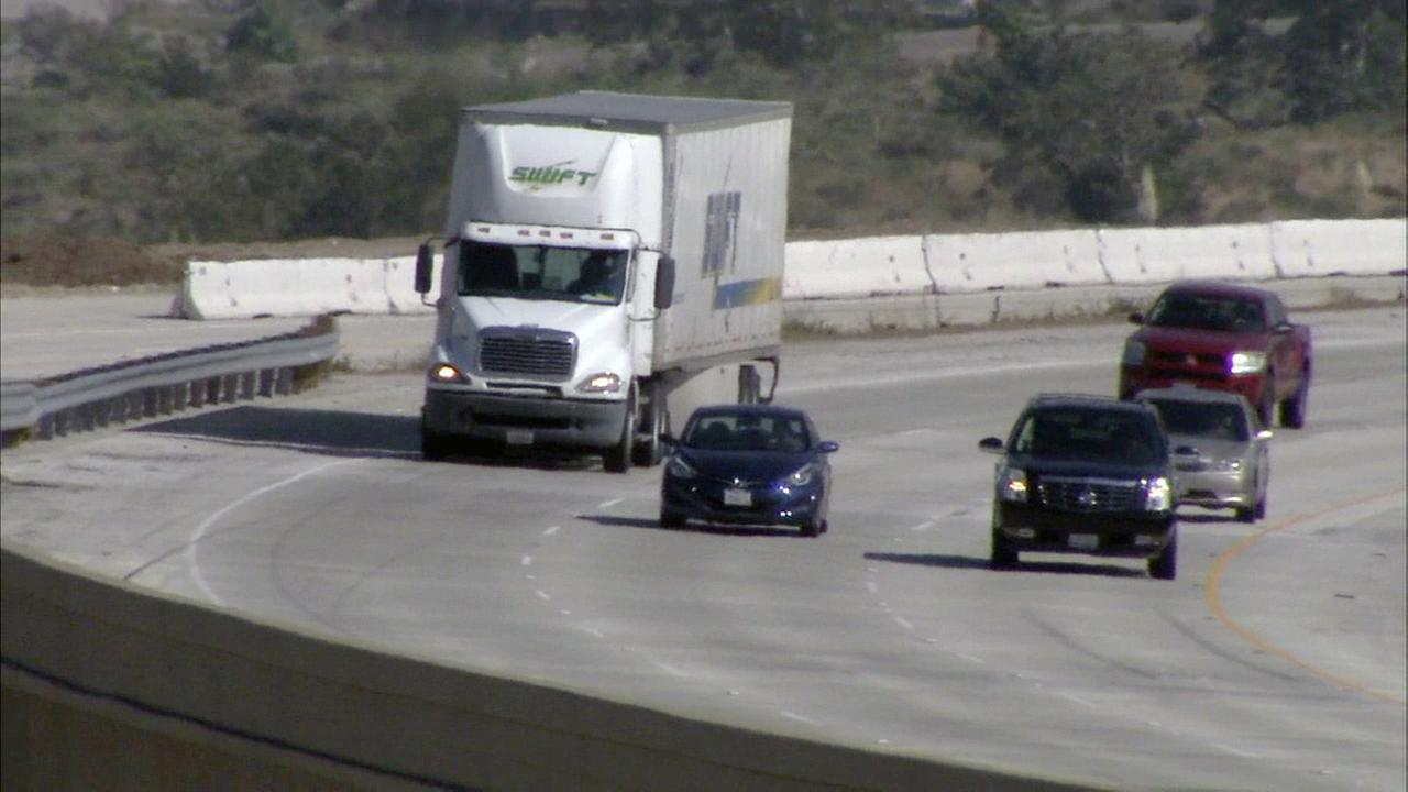 As traffic is expected to increase on freeways in the Inland Empire, one proposal to help decrease traffic includes dedicating a lane just for freight trucks.