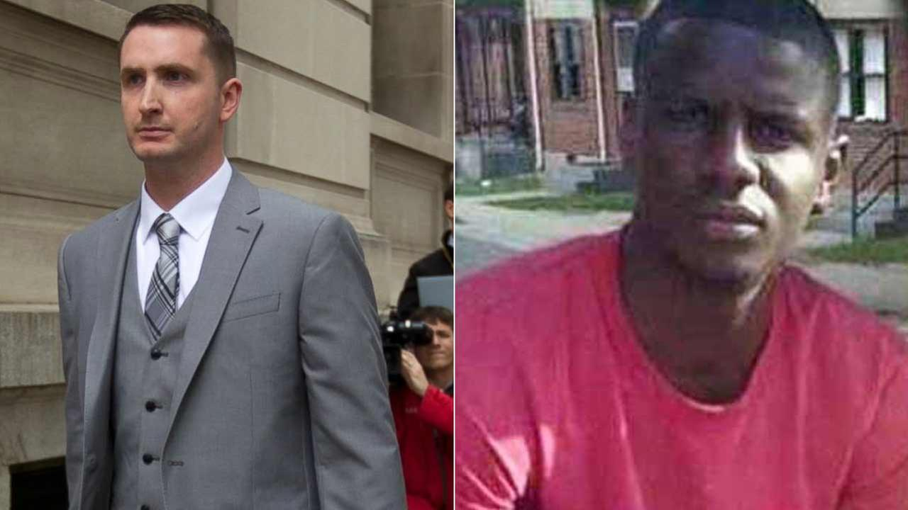 Freddie Gray and Edward Nero are pictured in undated photos.