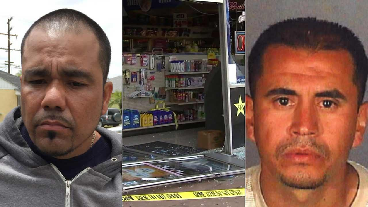 (Left to right) Daniel Soto, 35, and Emanuel Quintero, 33, are seen in photos provided by Garden Grove police.