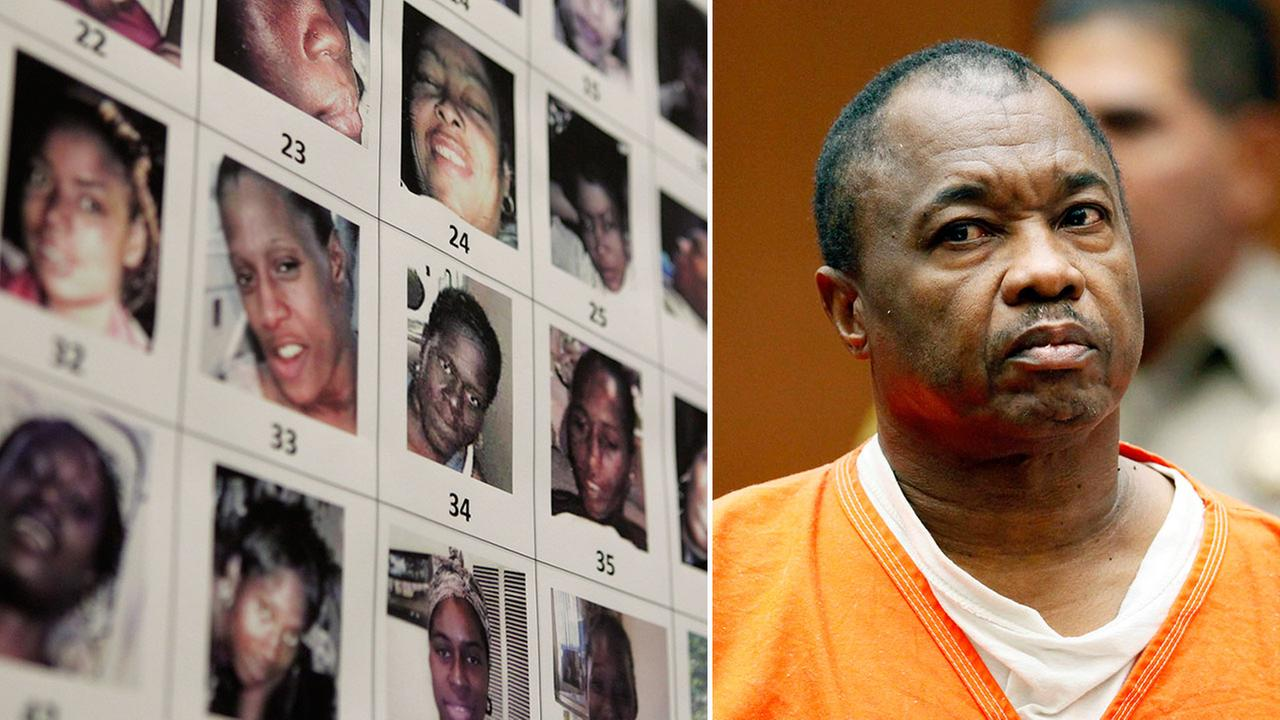 Lonnie David Franklin Jr., also known as the Grim Sleeper, appears in Los Angeles Superior Court.