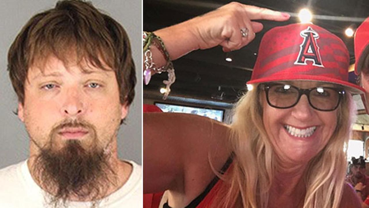Brian Saylor, 31, left, has been arrested in the beating death of Tammy Serrano, 54 at a CVS in Temecula.