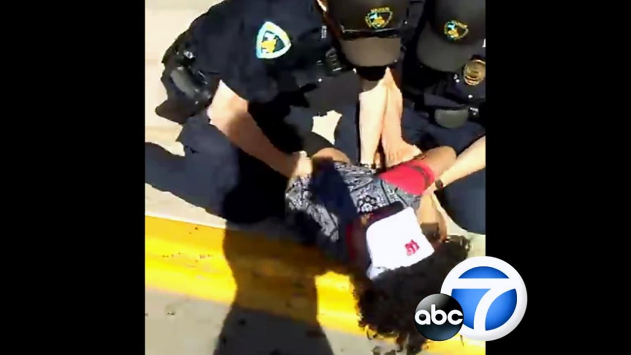 Video captured police in Madison, Wisconsin, kneeing, punching and tasering a woman on Tuesday, June 21, 2016.