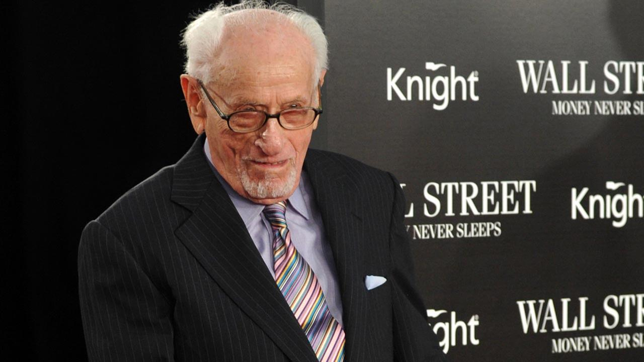 Eli Wallach died Tuesday evening, June 24, 2014, from natural causes after 98 years of life, 66 years of marriage and some 100 films.AP Photo/Evan Agostini