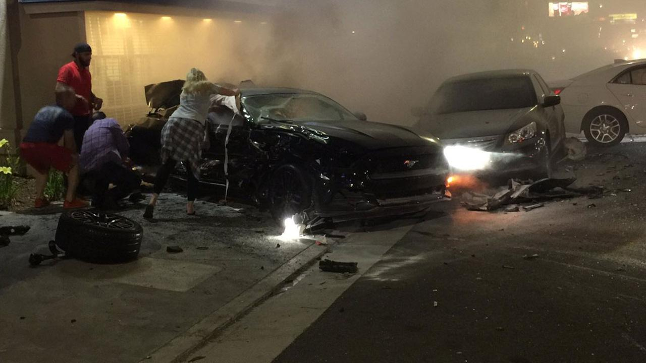 Sacramento Car Accident Yesterday