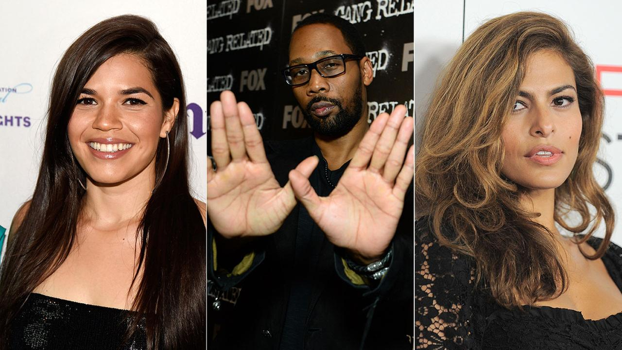 America Ferrera, RZA and Eva Mendes are among the performers invited to join the Academy of Motion Picture Arts and Sciences in an effort to diversify its membership.