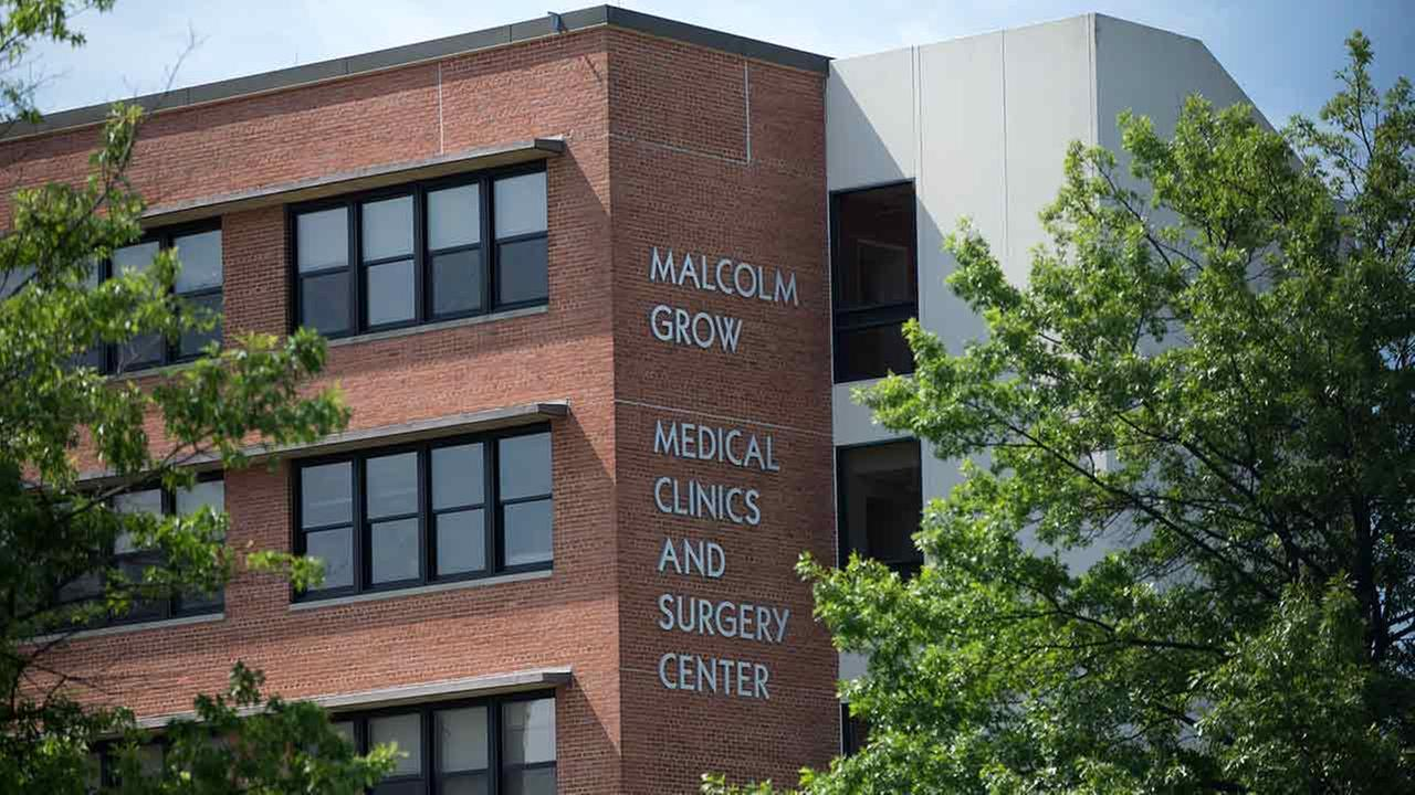 The Malcolm Grow Medical Center is seen at Joint Base Andrew, Md., Thursday, June 30, 2016.