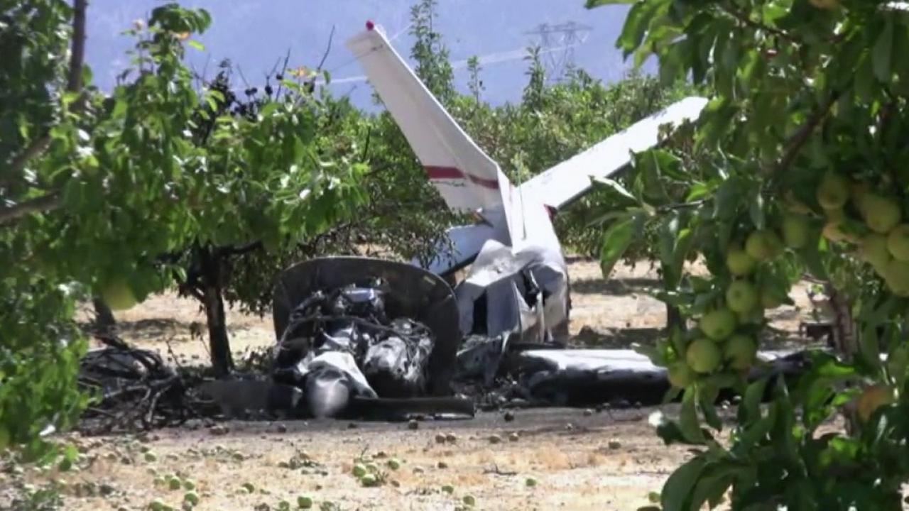 An aircraft carrying four passengers crashed shortly after taking off from Brian Ranch Airport in Llano on Sunday, July 3, 2016, according to the sheriffs department.