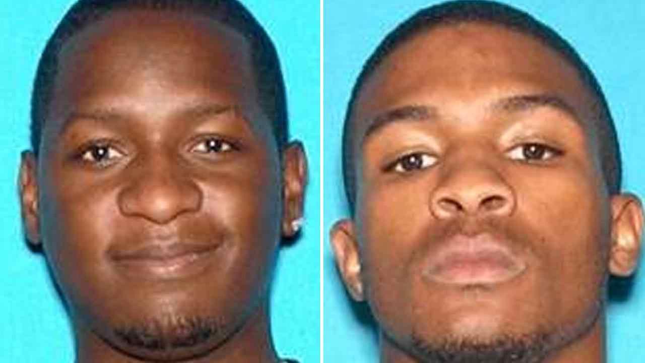 Travon Lamar Williams, 26, left, Samathy Mahan, 25, right, are seen in undated photos provided by the San Bernardino Police Dept. on Saturday, July 9, 2016.