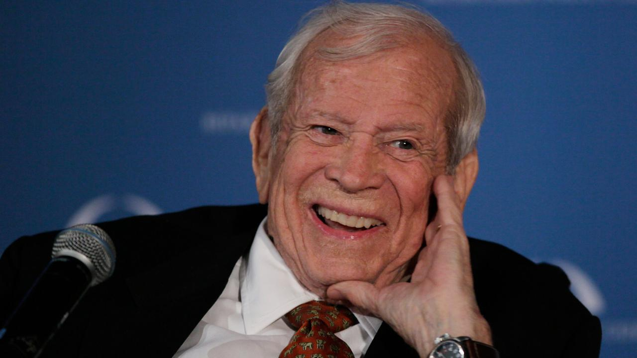 Former U.S. Sen. Howard Baker Jr., who asked what President Richard Nixon knew about Watergate, died Thursday, June 26, 2014. He was 88.AP Photo/Carolyn Kaster
