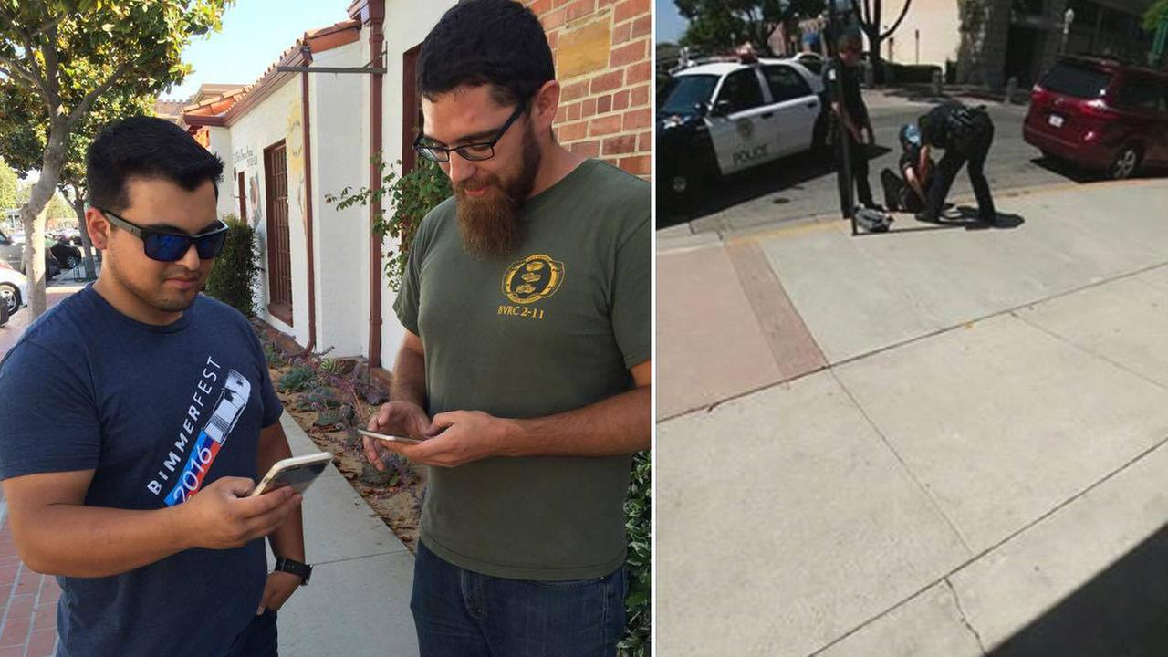 2 Marines playing Pokemon Go help catch attempted murder suspect in Fullerton