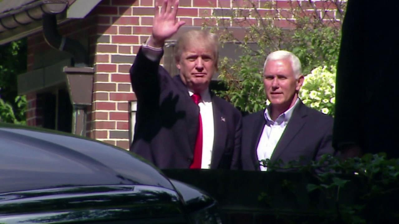Donald Trump is reportedly leaning toward Indiana Gov. Mike Pence as his vice-presidential pick.