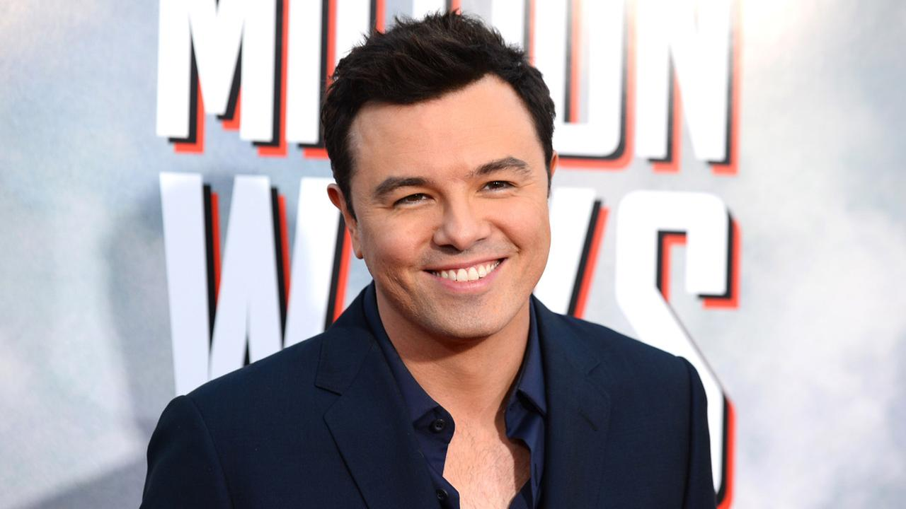 This May 15, 2014 file photo shows actor Seth MacFarlane at the World Premiere of A Million Ways To Die In The West in Westwood, Calif.