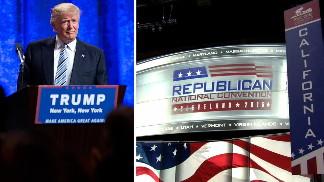 Donald Trump will take center stage at the Republican National Convention in Cleveland, Ohio.