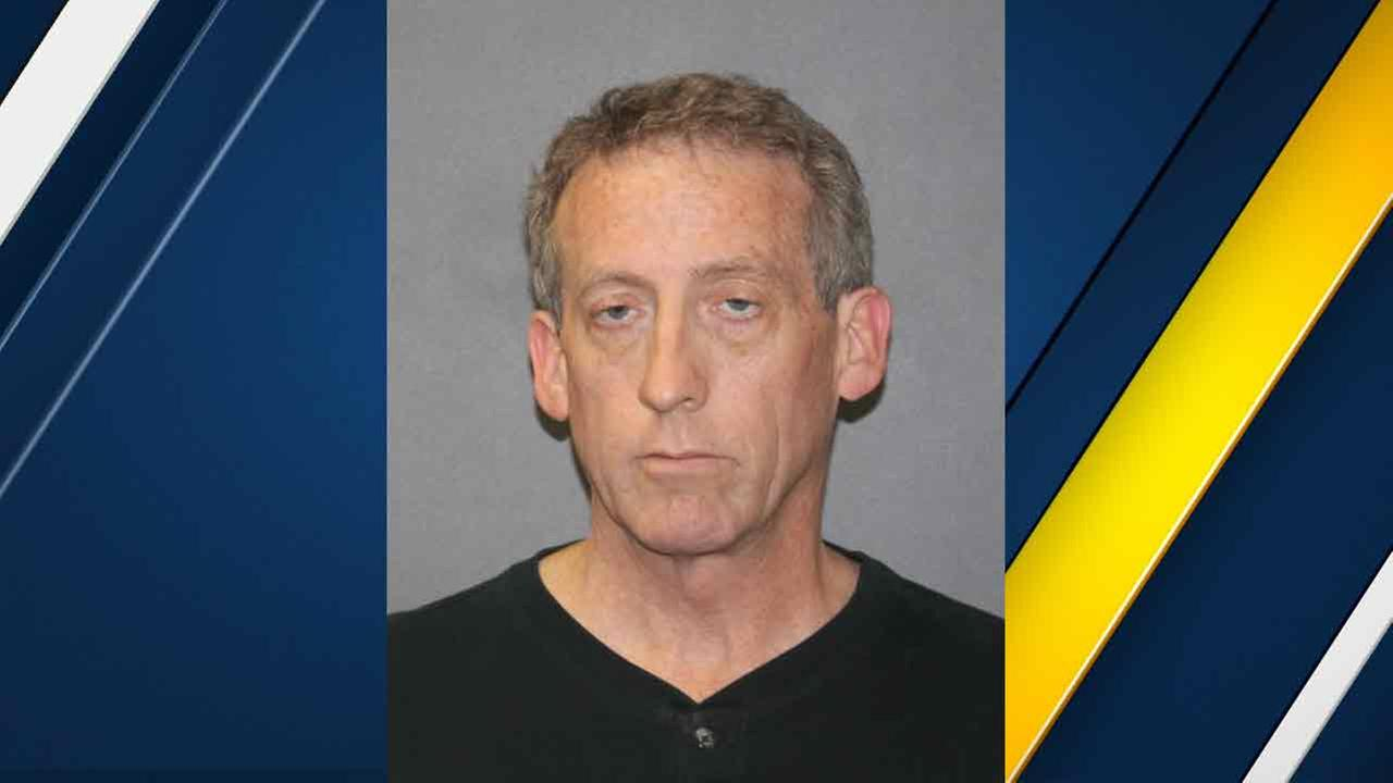 David Lowe, 54, is seen in a booking photo from the Brea Police Department.