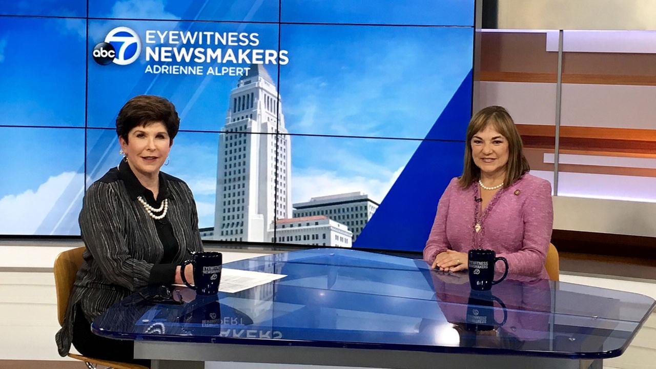 Congresswoman Loretta Sanchez discussed her Senate election against Kamala Harris and Democratic Party politics this week on Eyewitness Newsmakers.