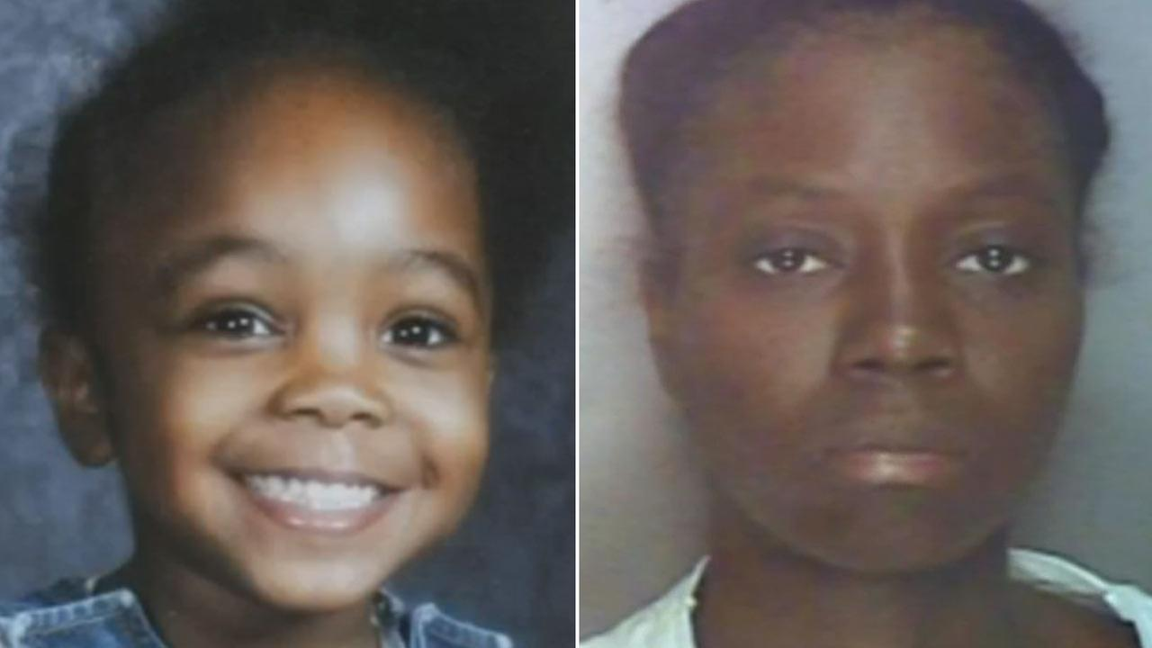 Christiana Glenn, 8, and her mother Krisla Rezireksyon Kris, 34, are seen in file photos.