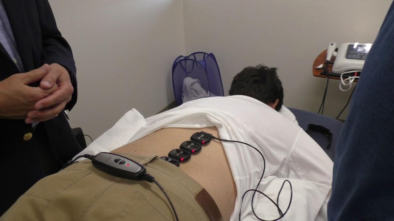 The LumiWave uses infrared light to target inflammation and reduce pain.