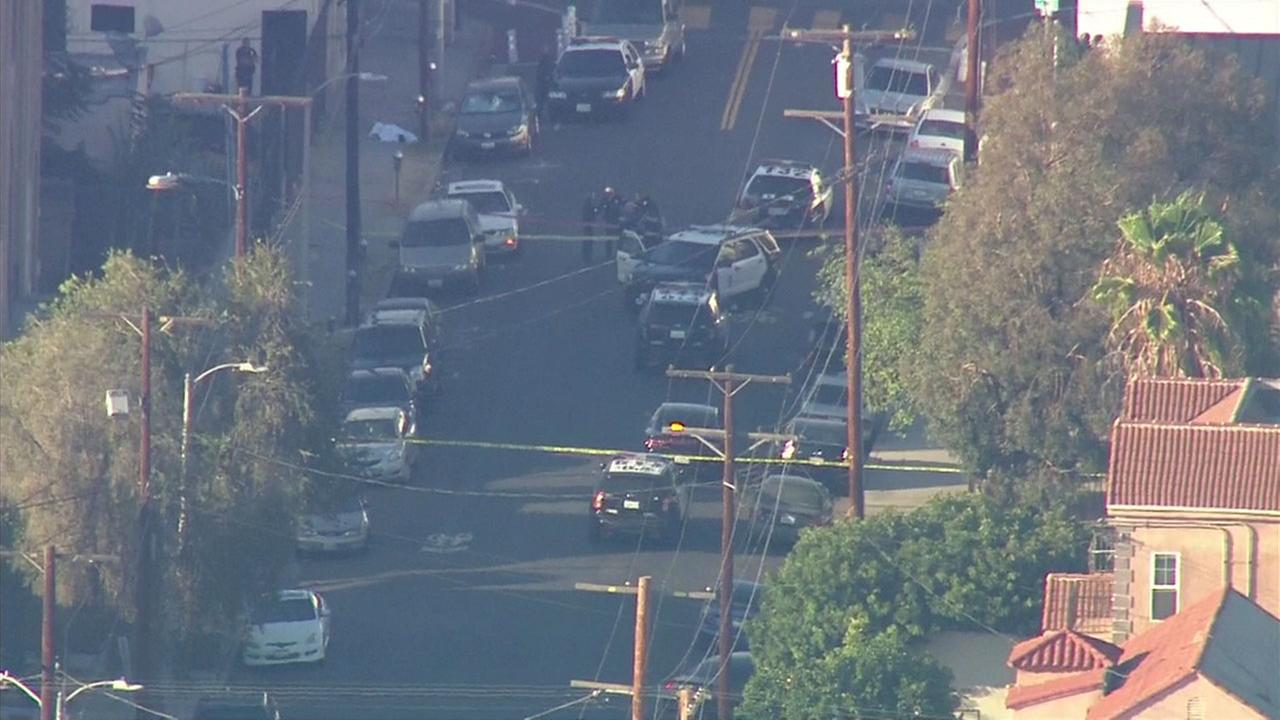 14-year-old armed with gun shot dead by officer in LA