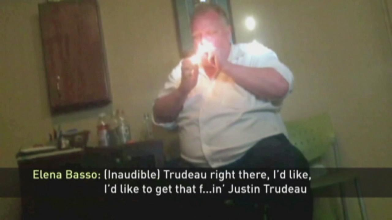 Video of late Toronto Mayor Rob Ford smoking crack was made public on Thursday, Aug. 11, 2016.