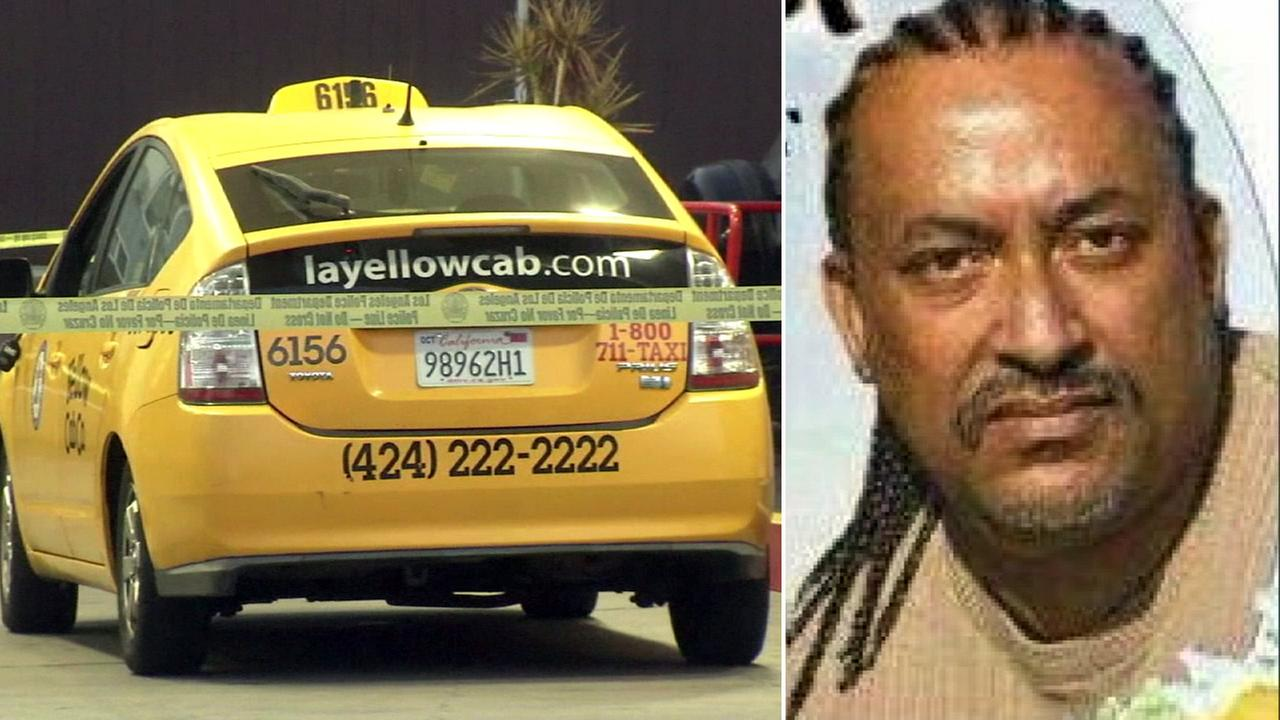 Los Angeles police said taxi driver Asifawosen Alemseged was beaten to death in Hollywood on Sunday, Aug. 14, 2016.