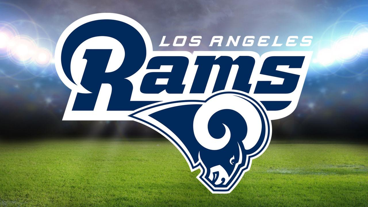 Los Angeles Rams Hood Cover