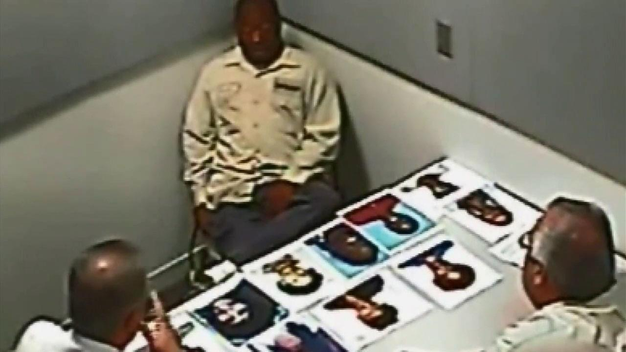 Grim Sleeper Lonnie Franklin Jr. is questioned by detectives during an investigation that eventually led to his murder conviction.