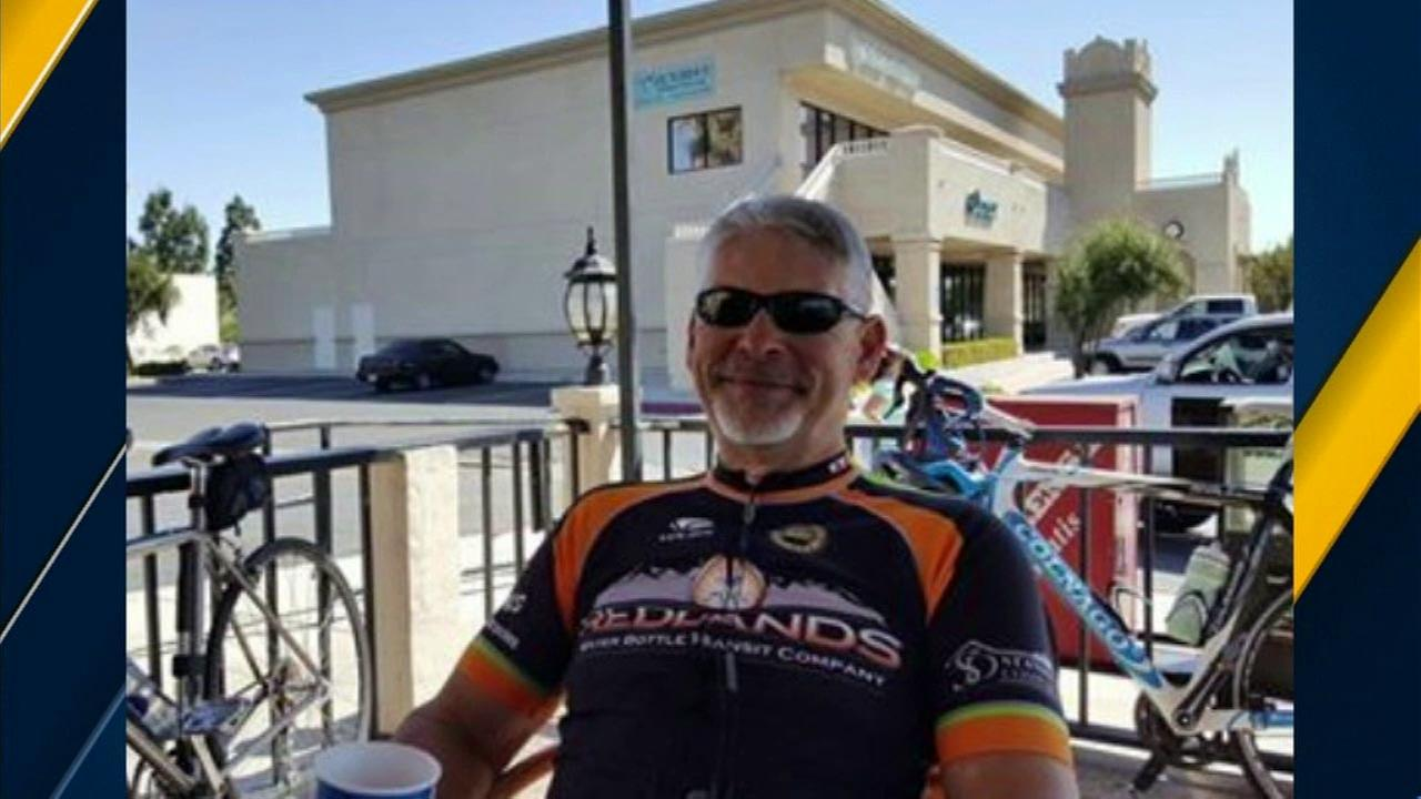 Avid cyclist Randy Stephenson was struck and killed by a suspects vehicle during a sheriffs chase in Loma Linda.