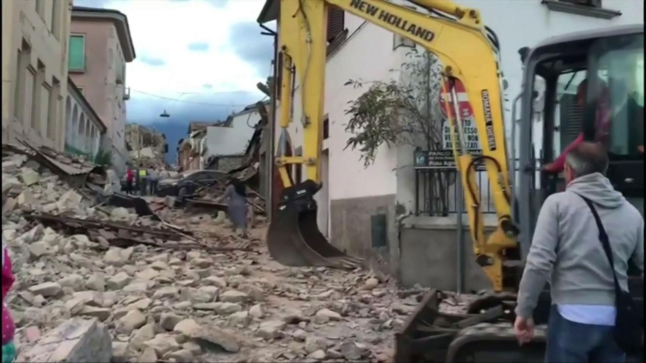 A 6.1 magnitude earthquake devastated small towns in central Italy, reducing many buildings to rubble.