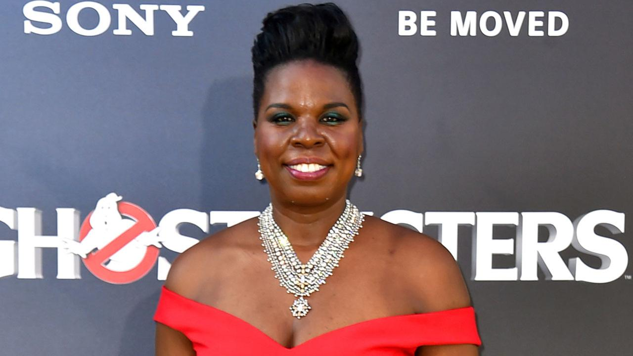In this July 9, 2016 file photo, Leslie Jones arrives at the Los Angeles premiere of Ghostbusters.
