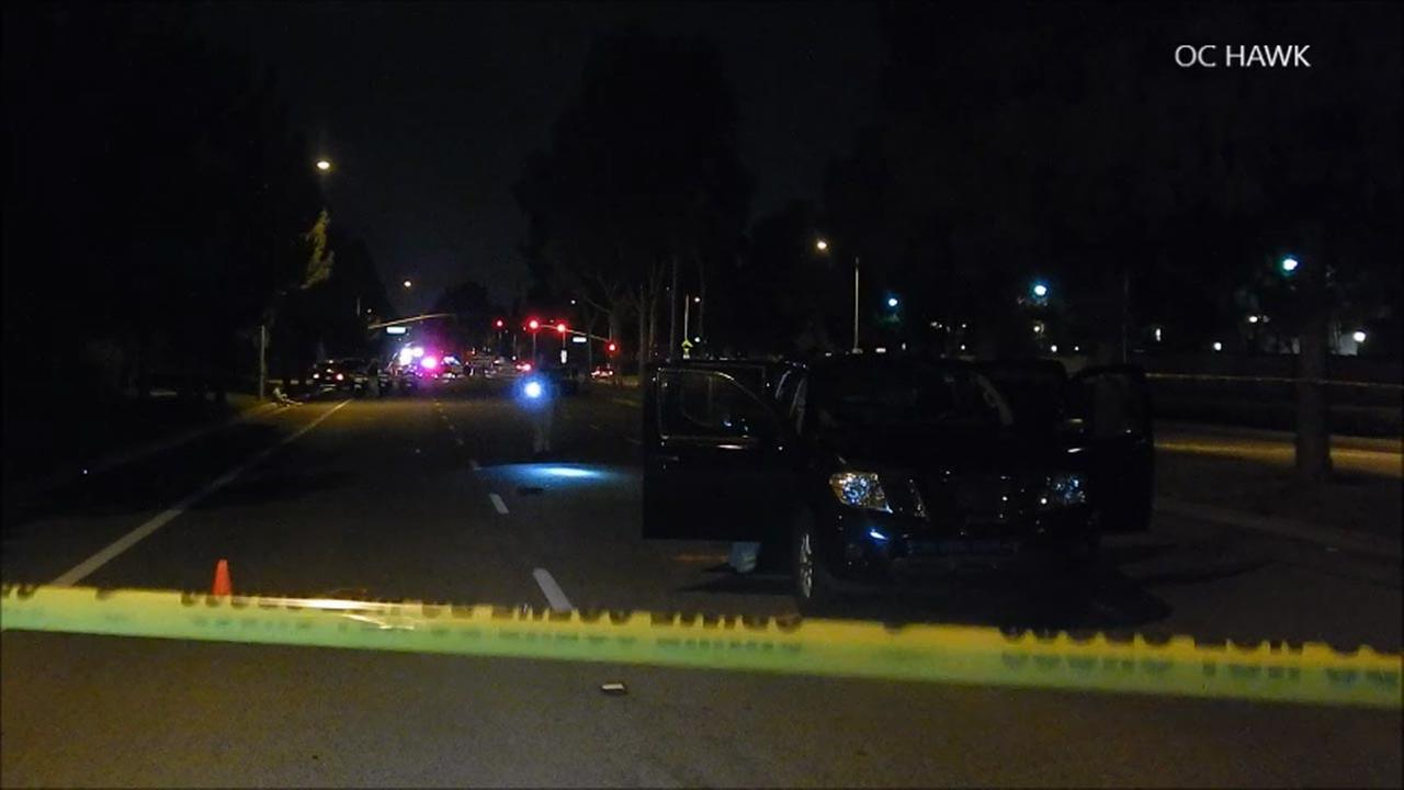 A 12-year-old boy was fatally struck by a vehicle in Tustin on Friday, Aug. 26, 2016, police said.