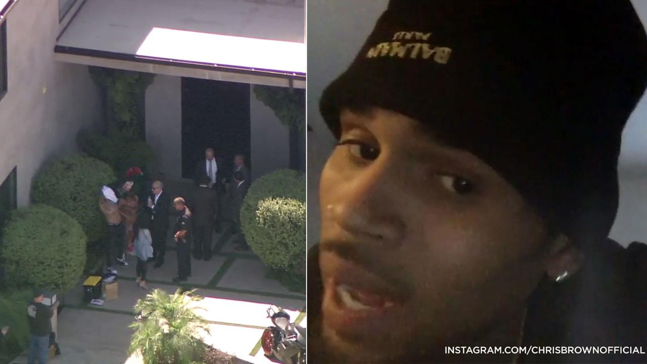 Singer Chris Brown spoke out on Instagram before he was arrested at his Tarzana home for assault with a deadly weapon on Tuesday, Aug. 30, 2016.