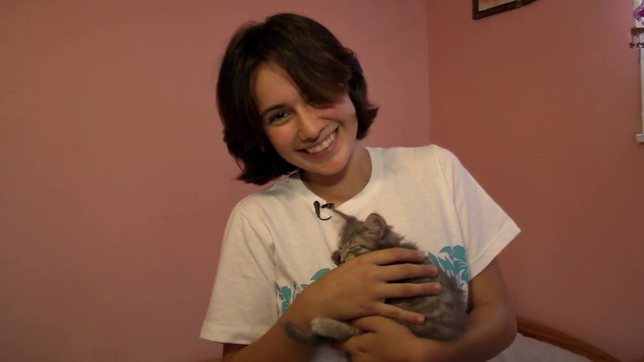 This weeks ABC7 Cool Kid is Rocio Valdez, who uses her love of cats to help find them forever homes.