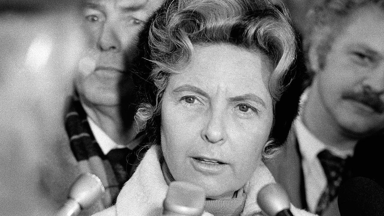 Phyllis Schlafly in Chicago on Wednesday, Dec. 7, 1977.