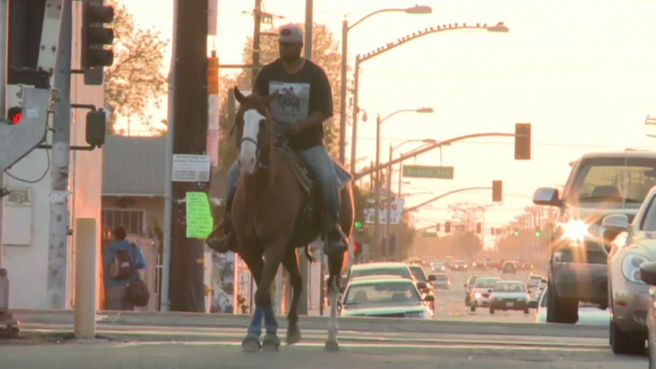 Cowboys in Compton are helping to keep tradition alive among the ever growing urban landscape.