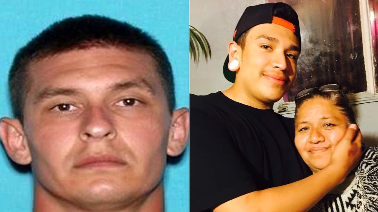 Thomas Scott, left, was arrested in connection to the shooting death of Luis Quintanar, right, outside Central Community Church in Riverside on Aug. 28.