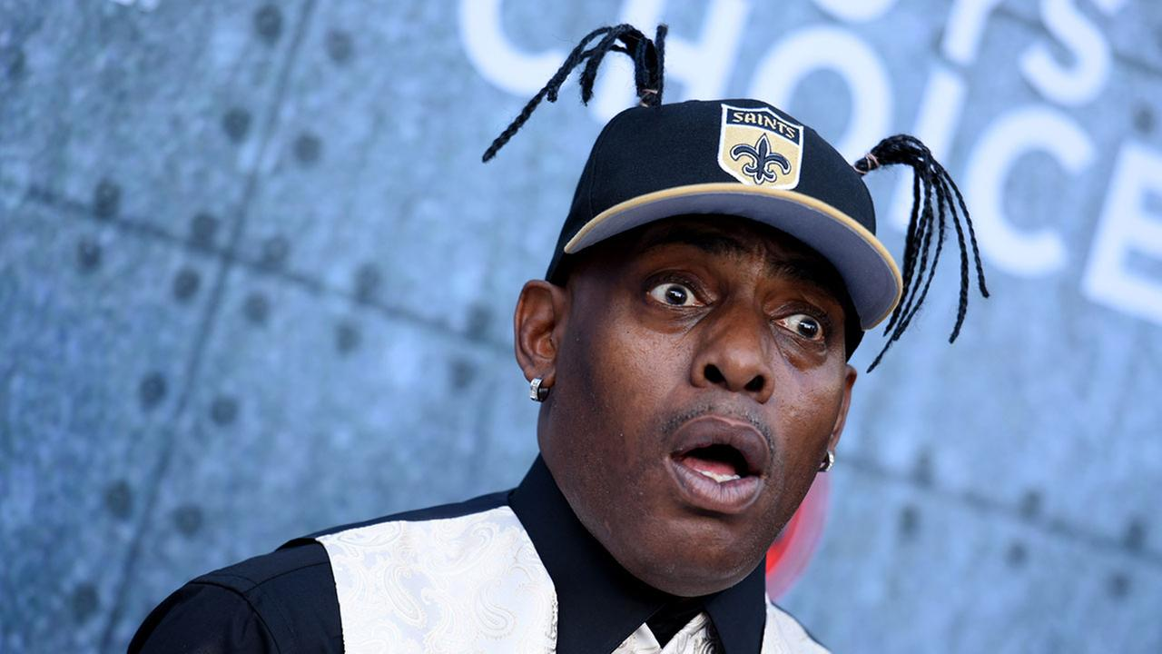 Rapper Coolio, pictured in 2015.