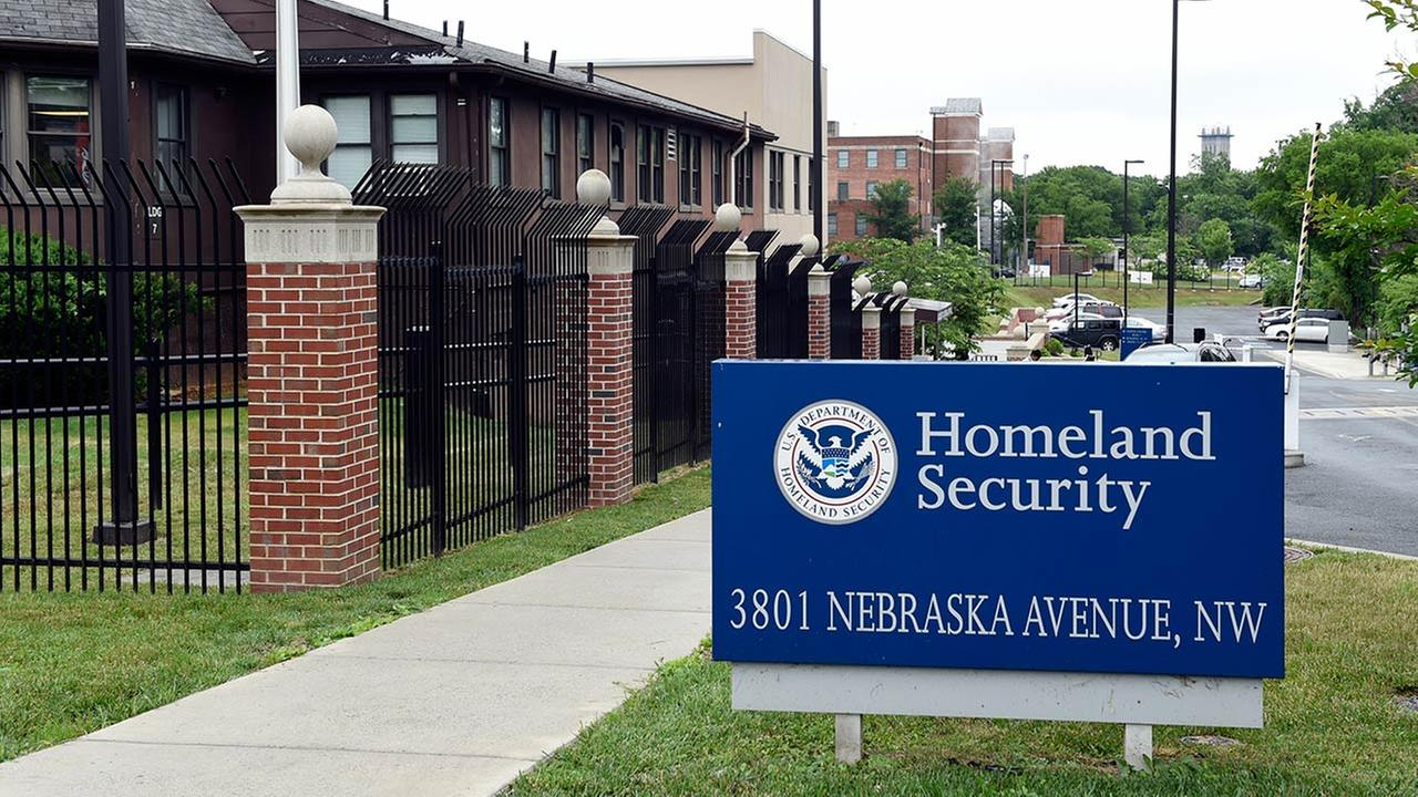 In this June 5, 2015, file photo, a view of the Homeland Security Department headquarters in Washington.