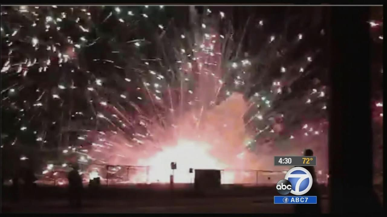The company that put on the disastrous Fourth of July fireworks display in Simi Valley last year has implemented new safety measures.