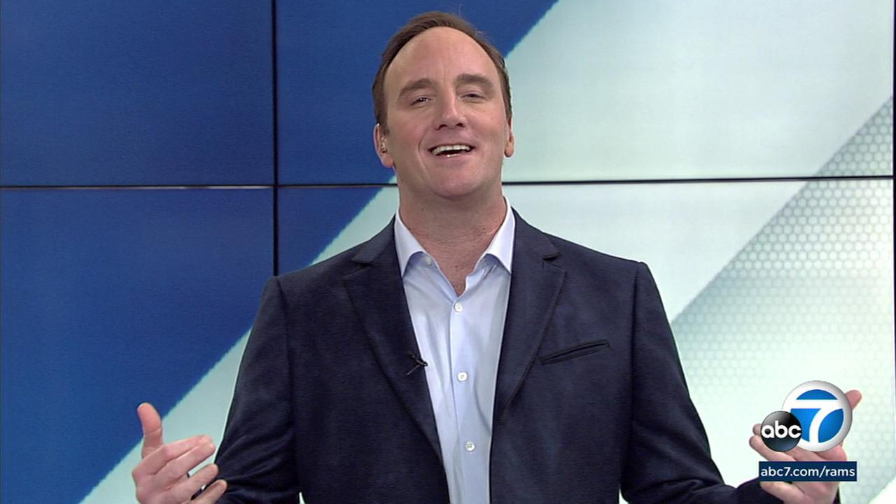 Jay Mohr said the Los Angeles Rams winning a game without a touchdown was the most L.A. thing ever.