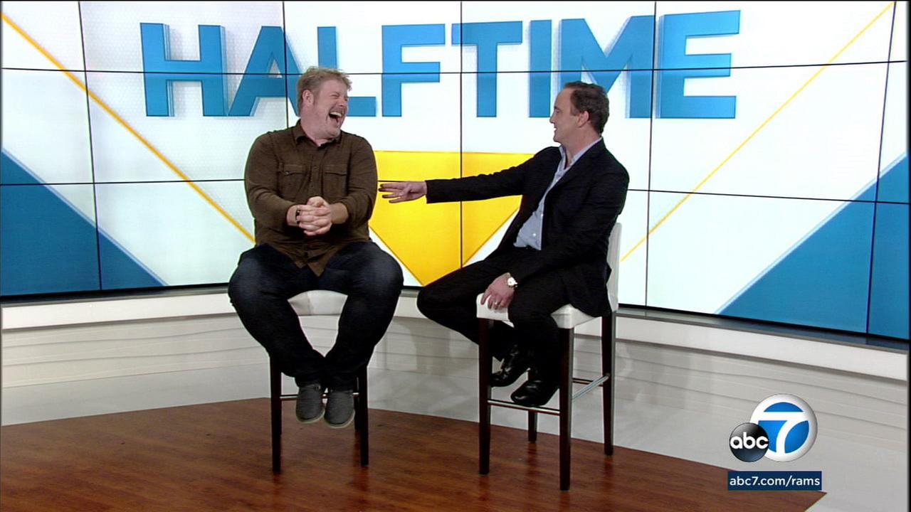 John DiMaggio, the voice of Bender from Futurama, talks football with Jay Mohr on Rams Primetime Saturday with Jay Mohr.