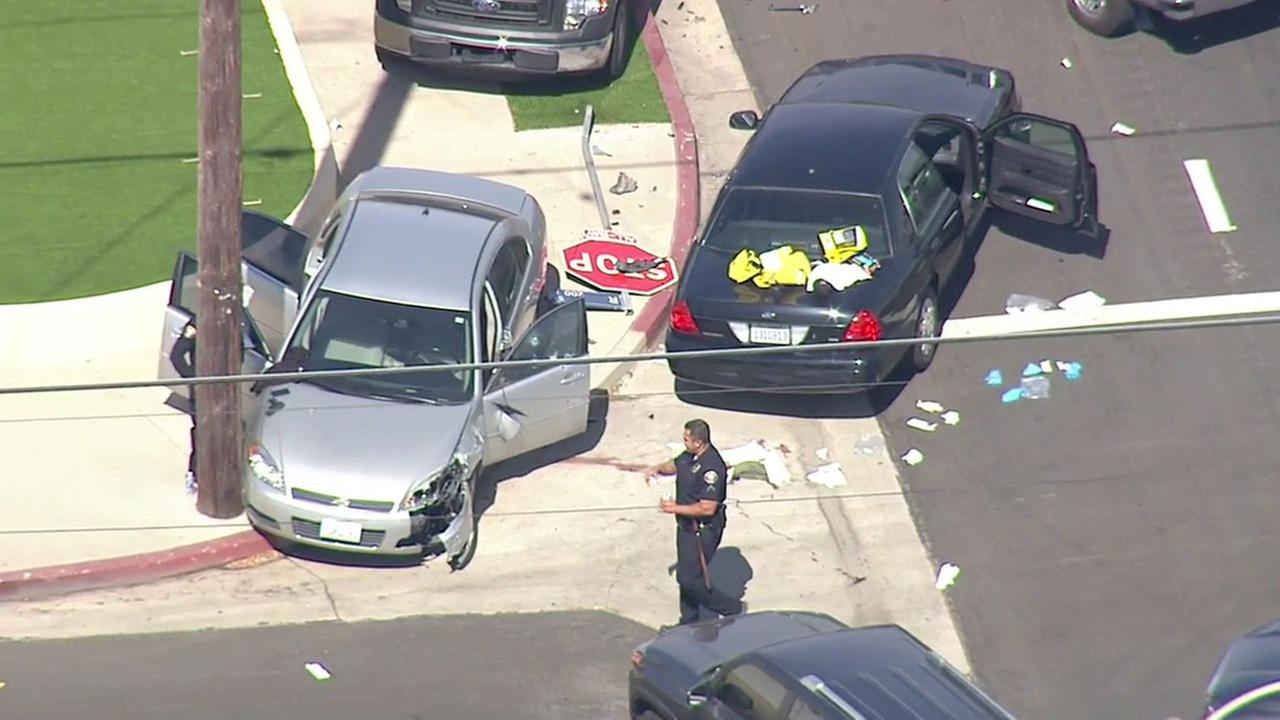 Long Beach police shoot and critically injure murder suspect in Wilmington