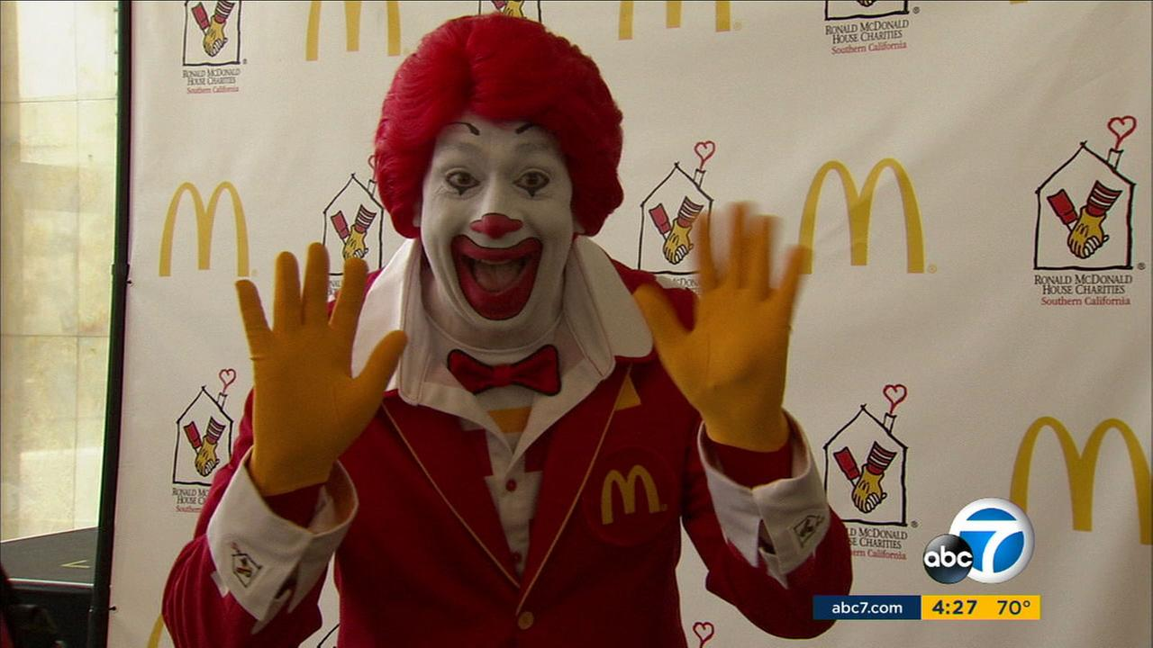 Ronald McDonald is laying low amid a nationwide creepy clown scare.
