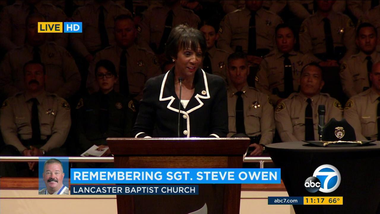 Sgt. Steve Owen memorialKABC