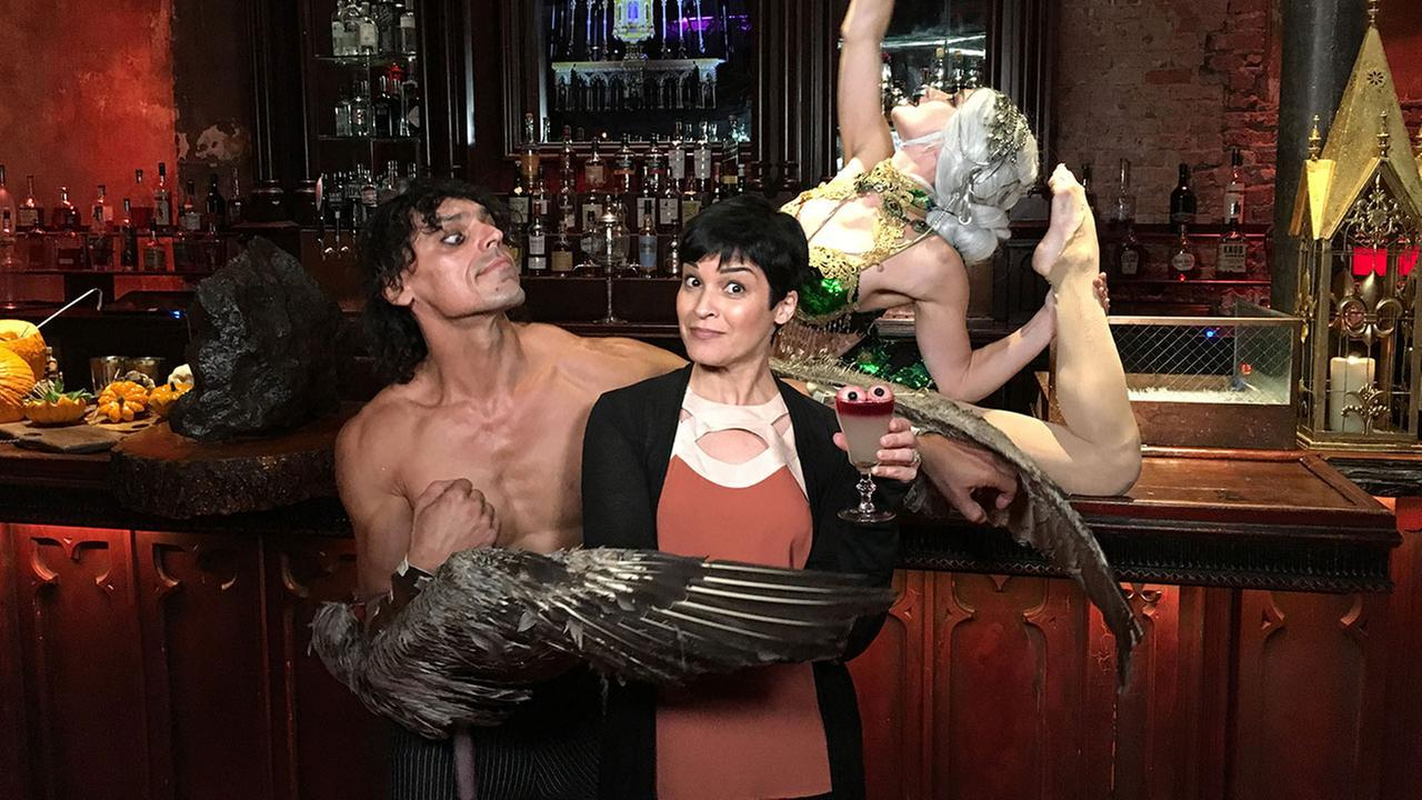 Eye on L.A. host Tina Malave looks at spooky fun for Halloween.