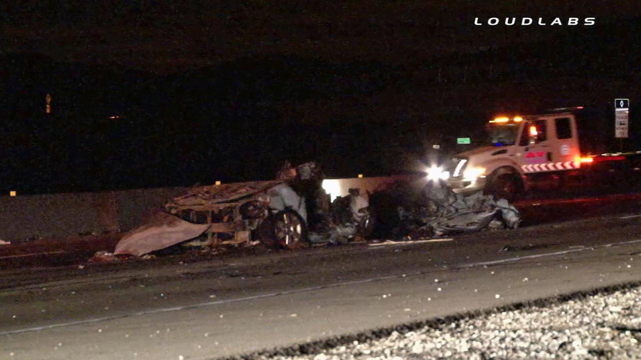 Palmdale Car Crash Yesterday