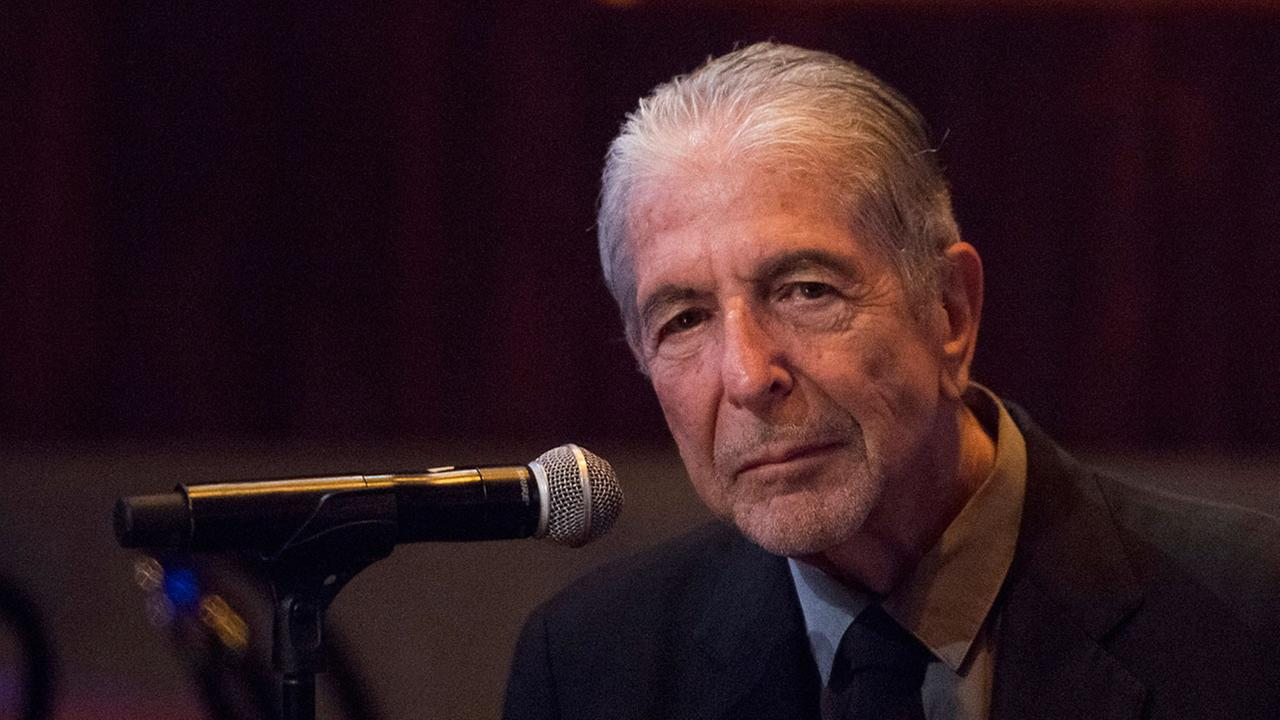 Singer Leonard Cohen, pictured in 2014.