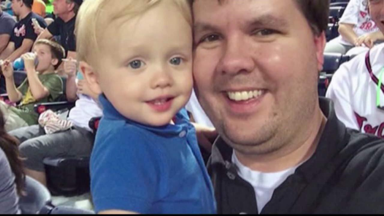 Justin Ross Harris and his son Cooper are seen in this undated file photo.