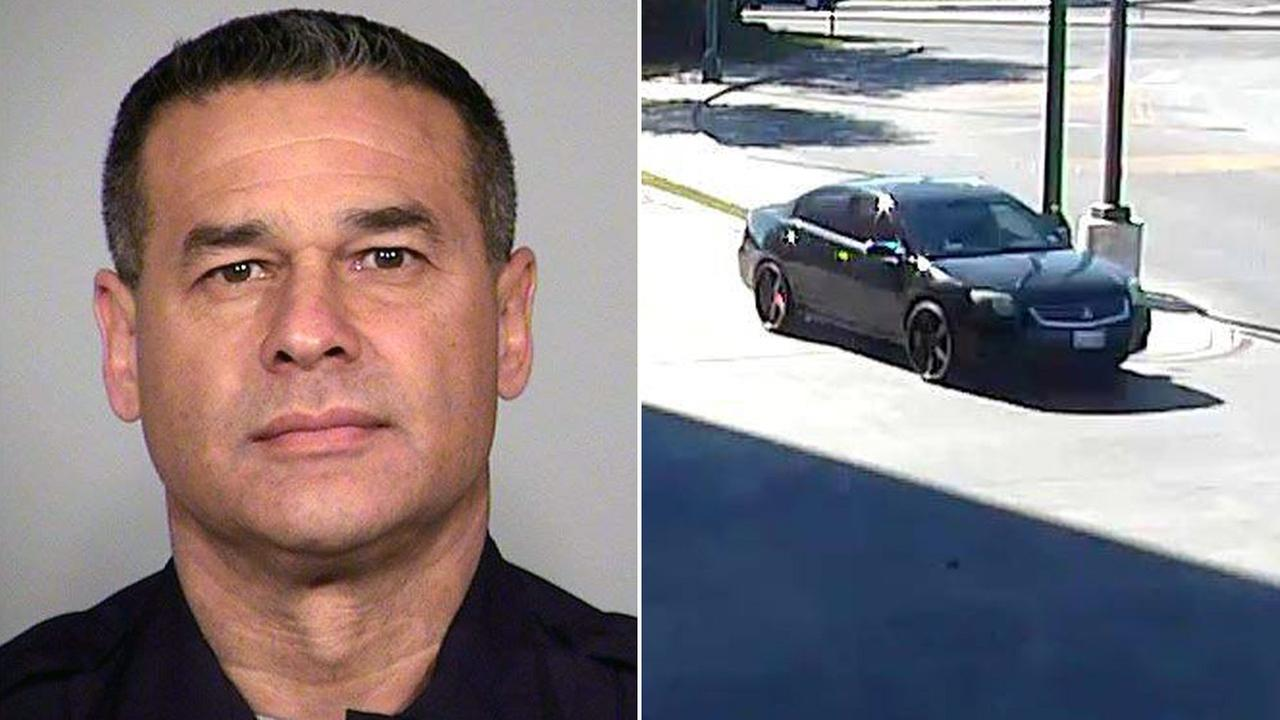 San Antonio police said 50-year-old Det. Benjamin Marconi was shot and killed while writing a ticket on Sunday, Nov. 20, 2016.